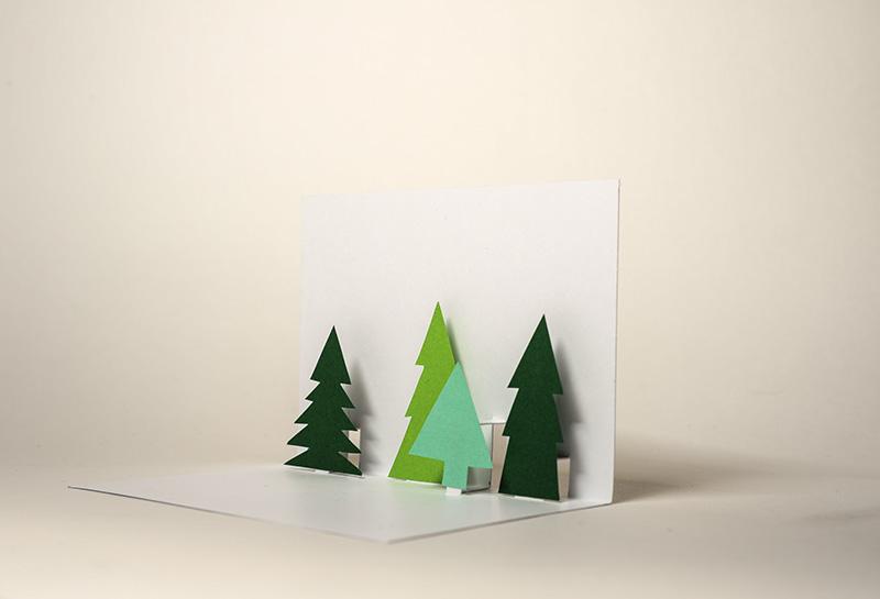 Der SoLebIch Adventskalender Pop Up Weihnachtskarten