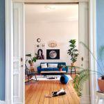 Wandfarbe Blau Und Petrol Die Besten Ideen Fur Blautone