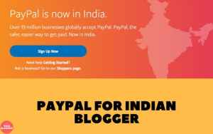 paypal account for indian