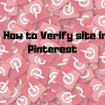 Verify site on Pinterest