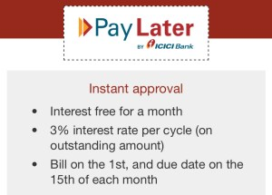 icici bank pay later