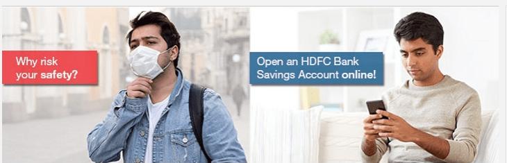 HDFC bank digital savings accounts