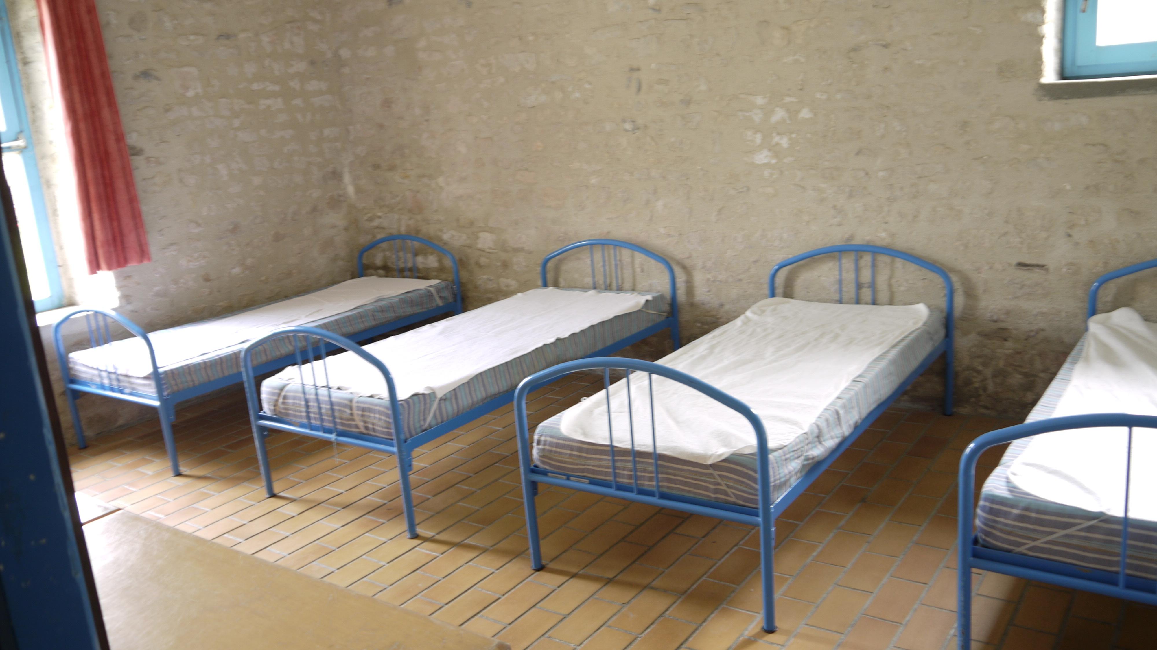 Chambre B - bleu 2 - 4 lits