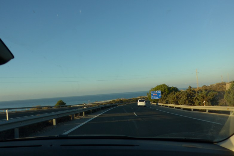 Driving the Costa del sol