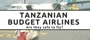 Is it safe to fly Fastjet and Precision Air? Read all about our experiences flying on these two budget Tanzanian airlines.