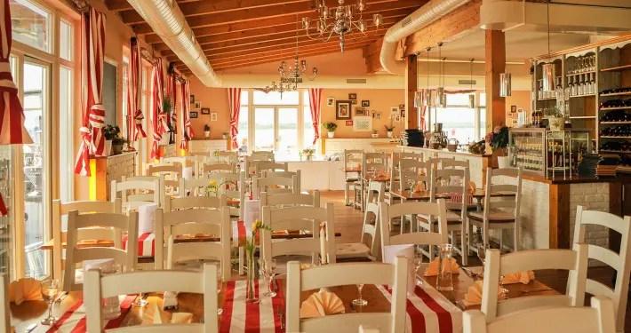 Italienisches Restaurant Sole Mio Seeterrasse Leipzig