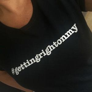 #Gettingrightonmy