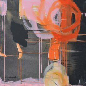Orange on pink, 2012