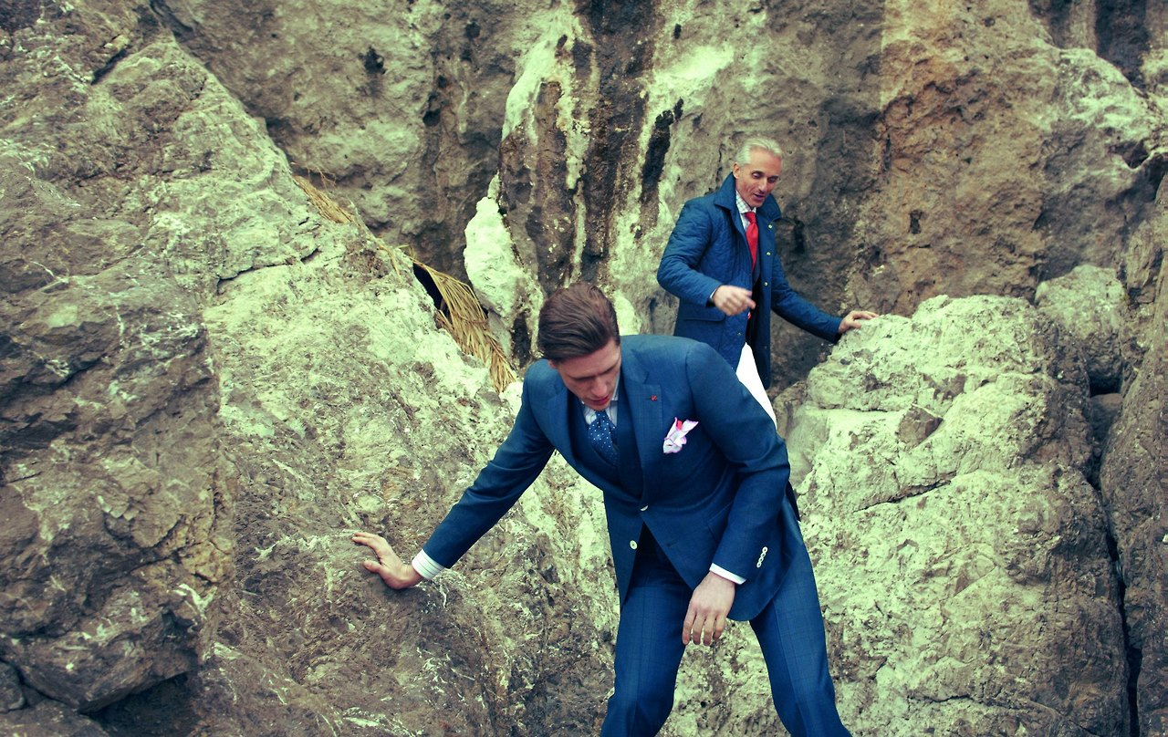 Getting Dirty With Isaia Ss13 Mini Lookbook Soletopia