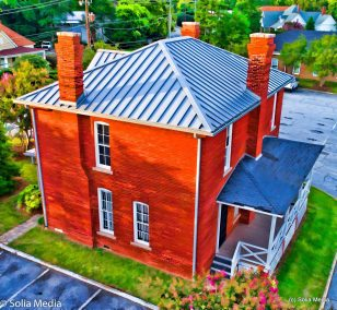 Solia Media Drone Work - Old Jail, Conyers, GA