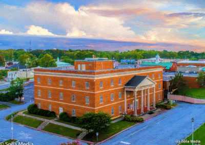 Rockdale County Courthouse, by Solia Media, FAA Certified Drone Operators
