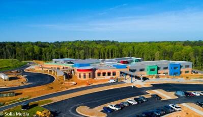 New Pine Street School - Solia Media Best Drone Work - Conyers, Rockdale Newton - New Pine Street School