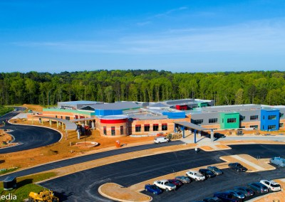 New Pine Street School - Solia Media Best Drone Work - Conyers, Rockdale Newton - New Pine Street School