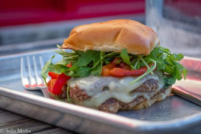 Solia Media Food Photography - Tin Plate Conyers Lambburger