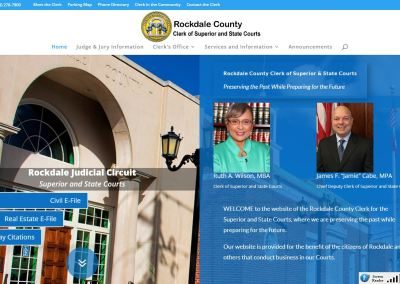 Solia Media Deploys New Website for the Rockdale County Clerk of Court