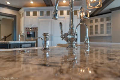 Preissless Design Interior Design - Kitchen Lake Oconee property - photography by Solia Media