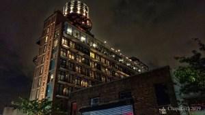 Williamsburg Hotel at Night by Albert Chapar of Solia Media - the Beauty of Brooklyn New York
