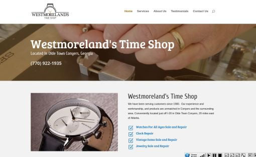 Westmoreland's Time Shop