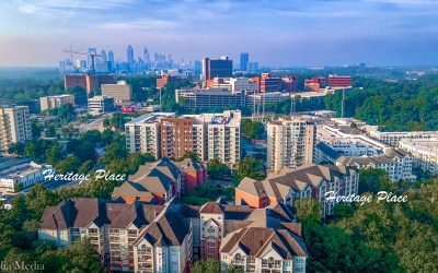 Solia Media Best Drone Services Atlanta Metro – Buckhead With Atlanta Skyline