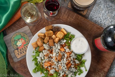 Buffalo Blue Chicken Salad - Celtic Tavern of Olde Town Conyers - Solia Media Food Photography