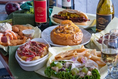 Table of Food - Celtic Tavern of Olde Town Conyers - Solia Media Food Photography