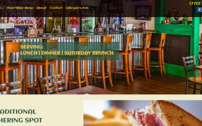Solia Media Creates New Website for the Famous Celtic Tavern!