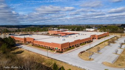Rockdale County Career Academy - Aerial by Solia Drone Services