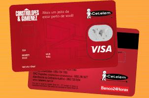 Cartão de Crédito Construlopes & Gimenez