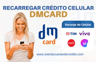 recarregar celular com dmcard