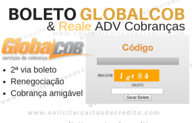 boleto globalcob reale adv cobranças
