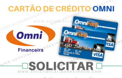 SOLICITAR CARTÃO DE CRÉDITO OMNI