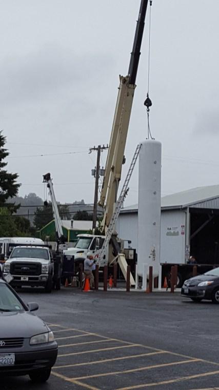 Cranes come in handy