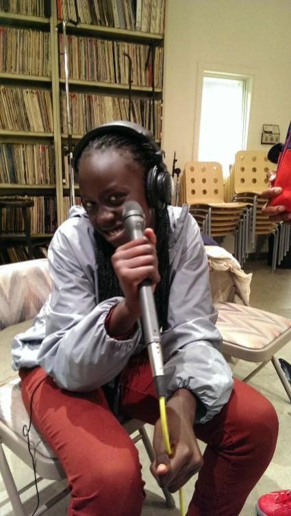 Taking the mic