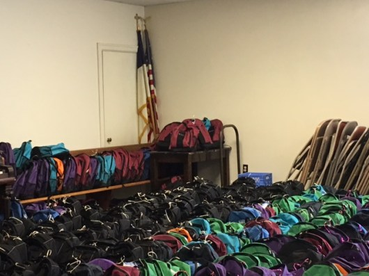 Project Cool is making a difference with all these backpacks.