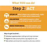 Undoing Racism brochure - Step 2: Act