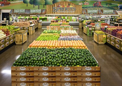Sprouts Farmers Market produce display