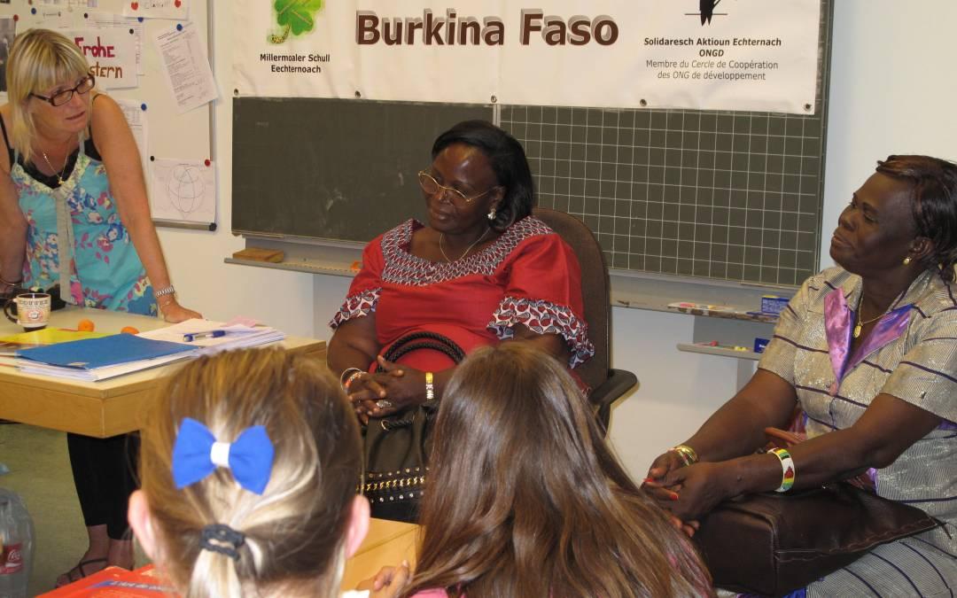 Visite de nos partenaires de Bobo-Dioulasso