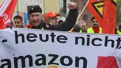 Foto van protest in Duitsland