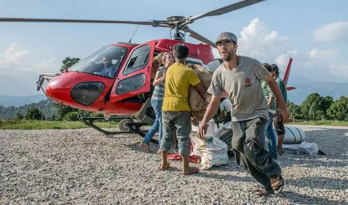 aide humanitaire Népal