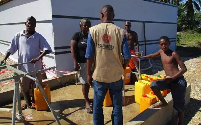 Potabilisation de l'eau Haïti