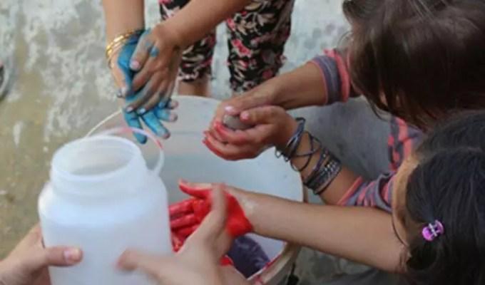 lavage des mains Liban
