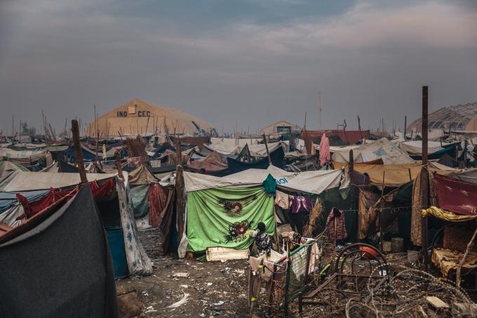 Soudan Du Sud Installation dans la base UNMISS