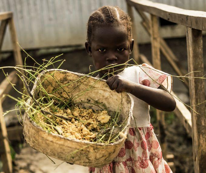 Soudan du Sud enfnats malnutrition