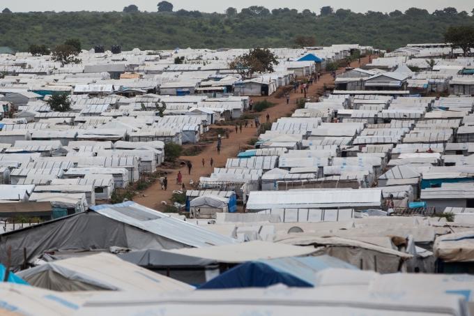 Soudan du Sud camp refugies