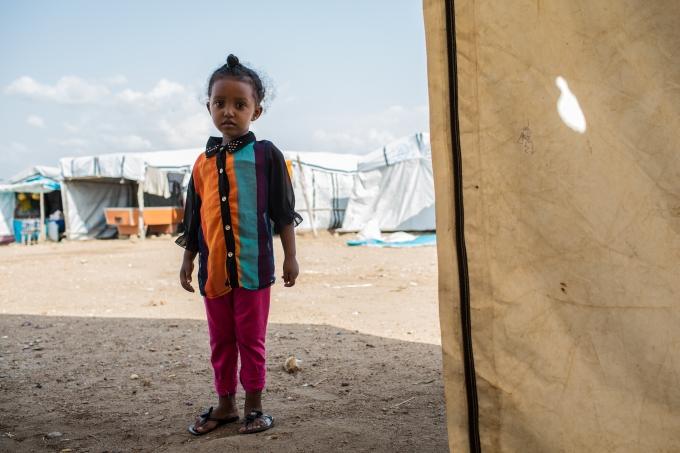 Soudan du Sud enfant camp refugies