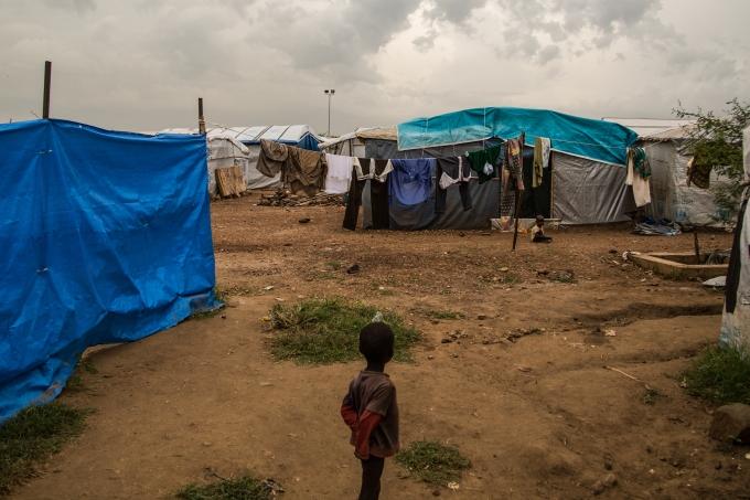 Soudan du Sud enfant camp rfugis