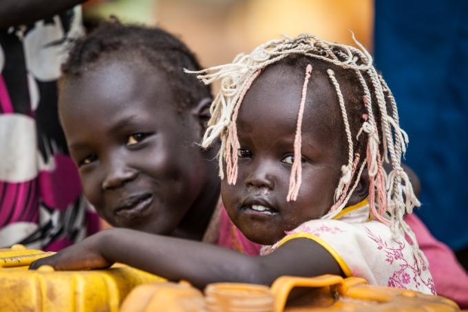 Soudan du Sud enfants camps refugies