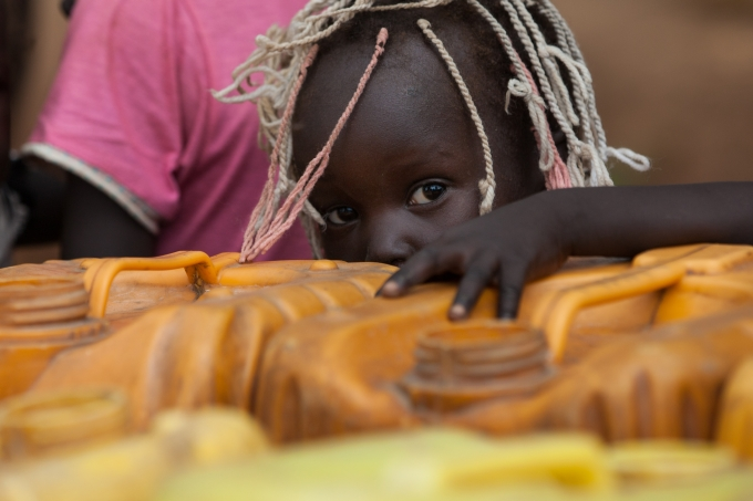 Soudan du Sud fille camp refugies