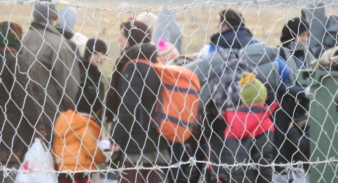 migrants macedoine