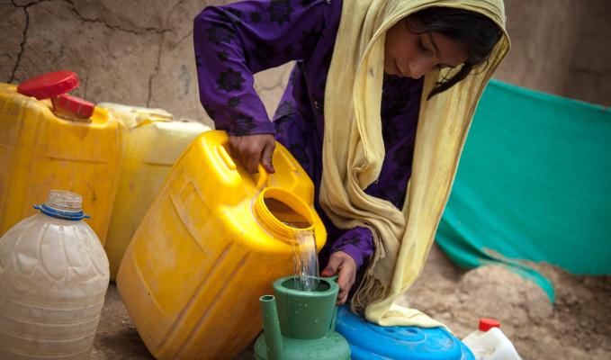 afghanistan eau réfugiés